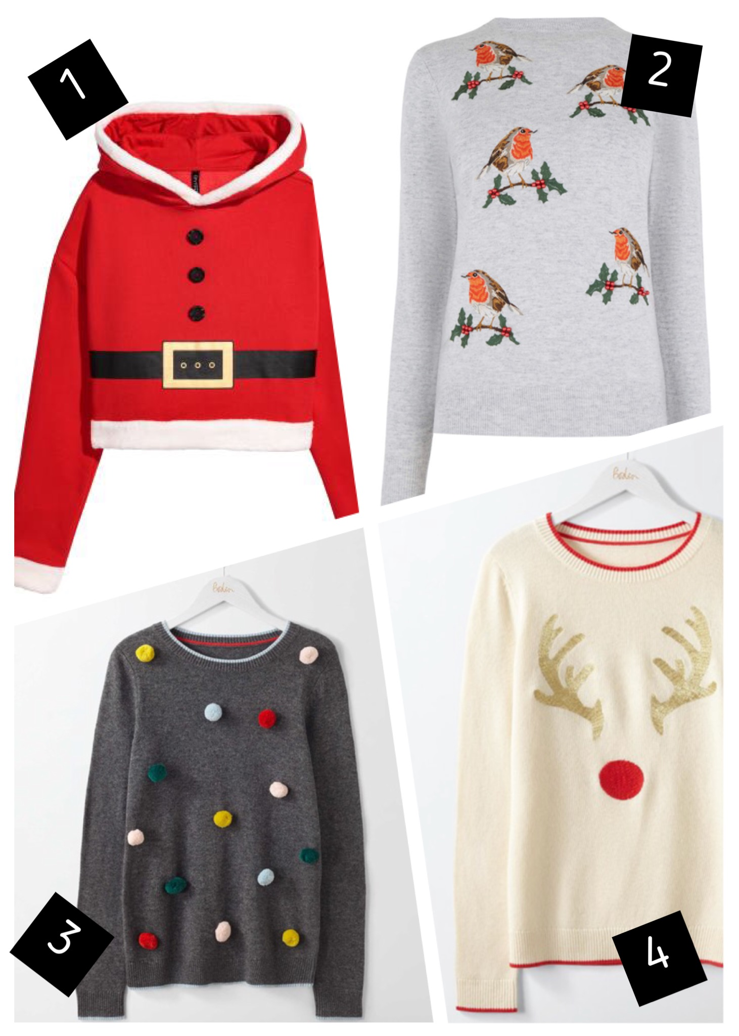 TOP CHRISTMAS JUMPERS FOR THE FAMILY