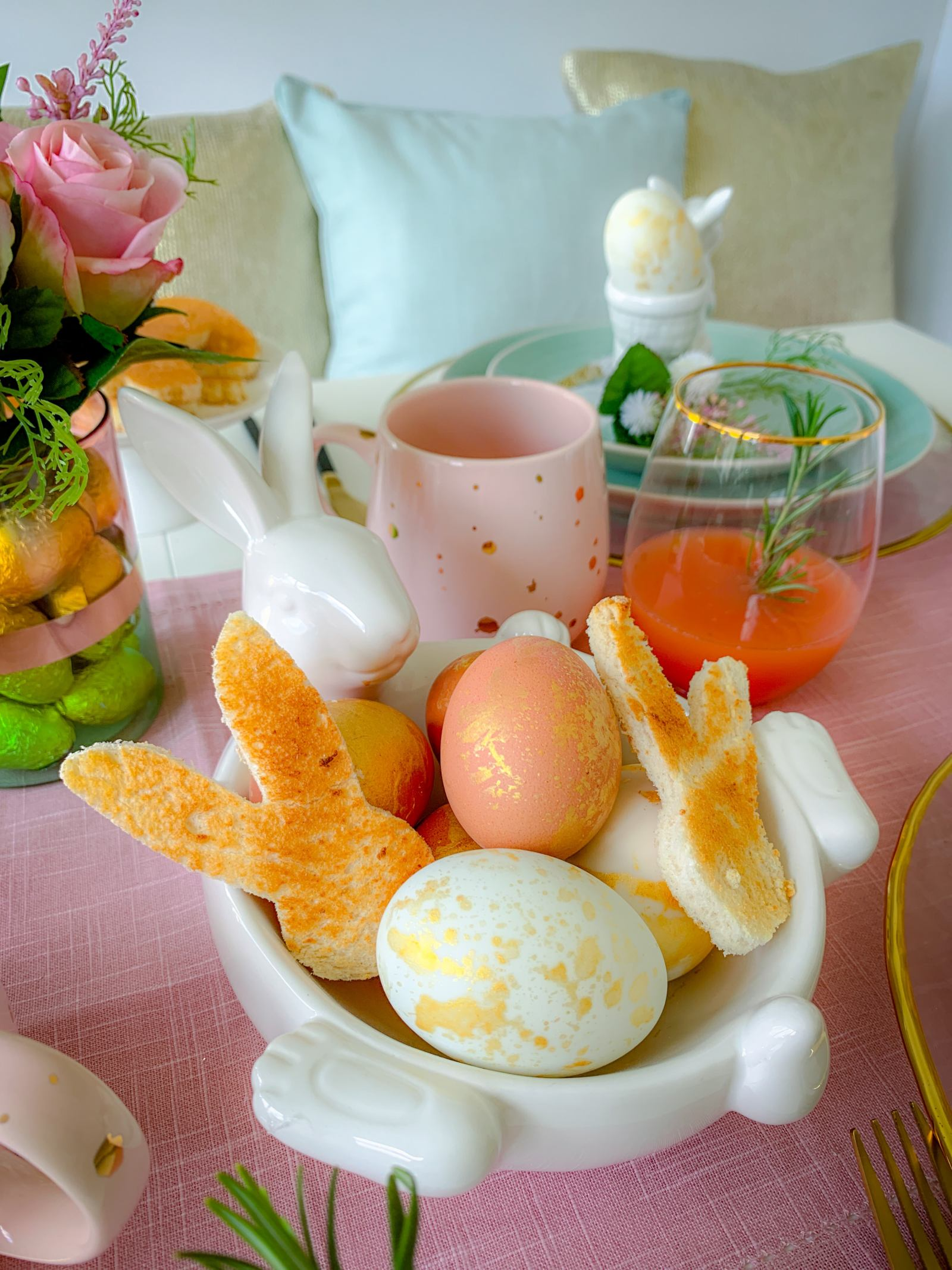 Dunelm easter bunny bowl
