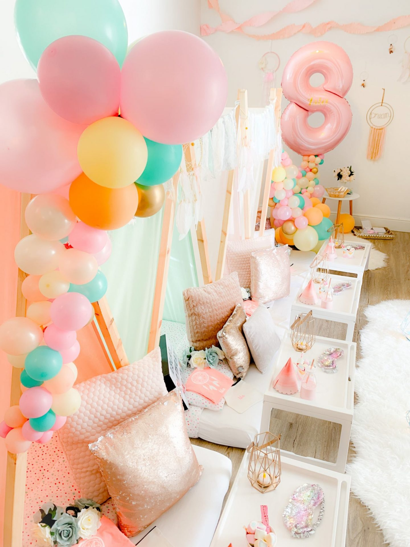 Boho Dreamcatcher Teepee Party