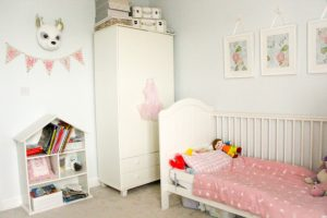 Girl's blue nursery