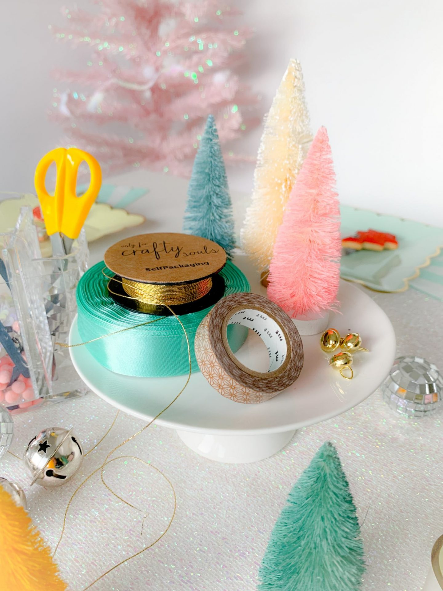 how to host a gal's Christmas gift wrapping party
