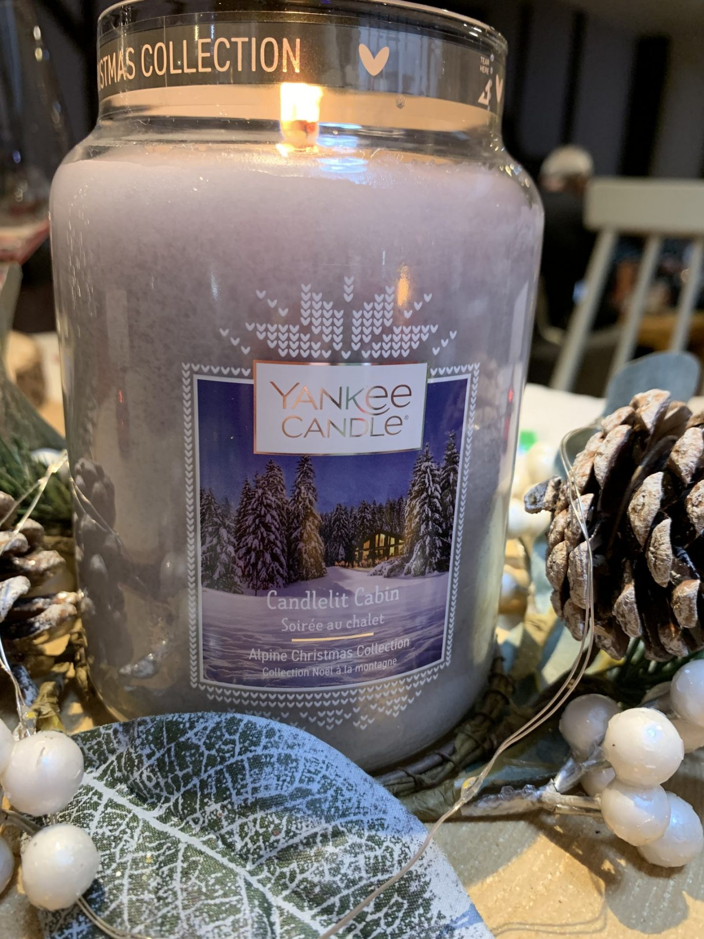 how I celebrated Christmas with Yankee Candle