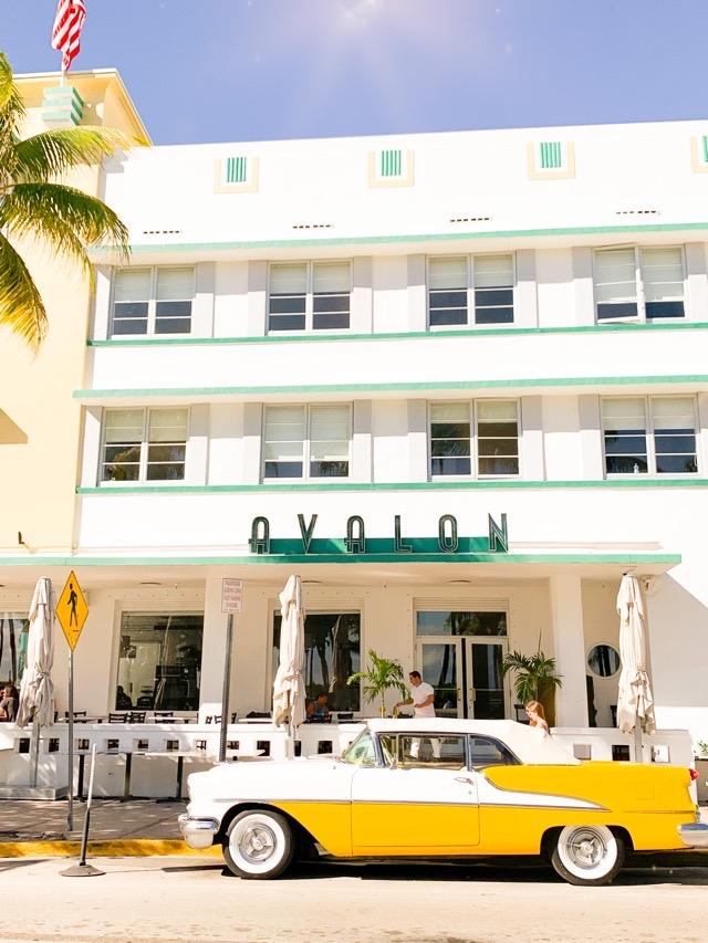 Art Deco Ocean Drive Miami