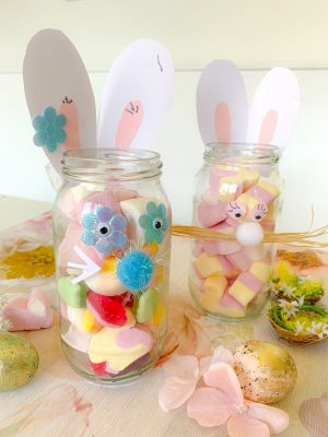DIY Easter treat holders