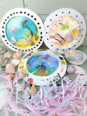 DIY AQUARIUM KIDS' CRAFT