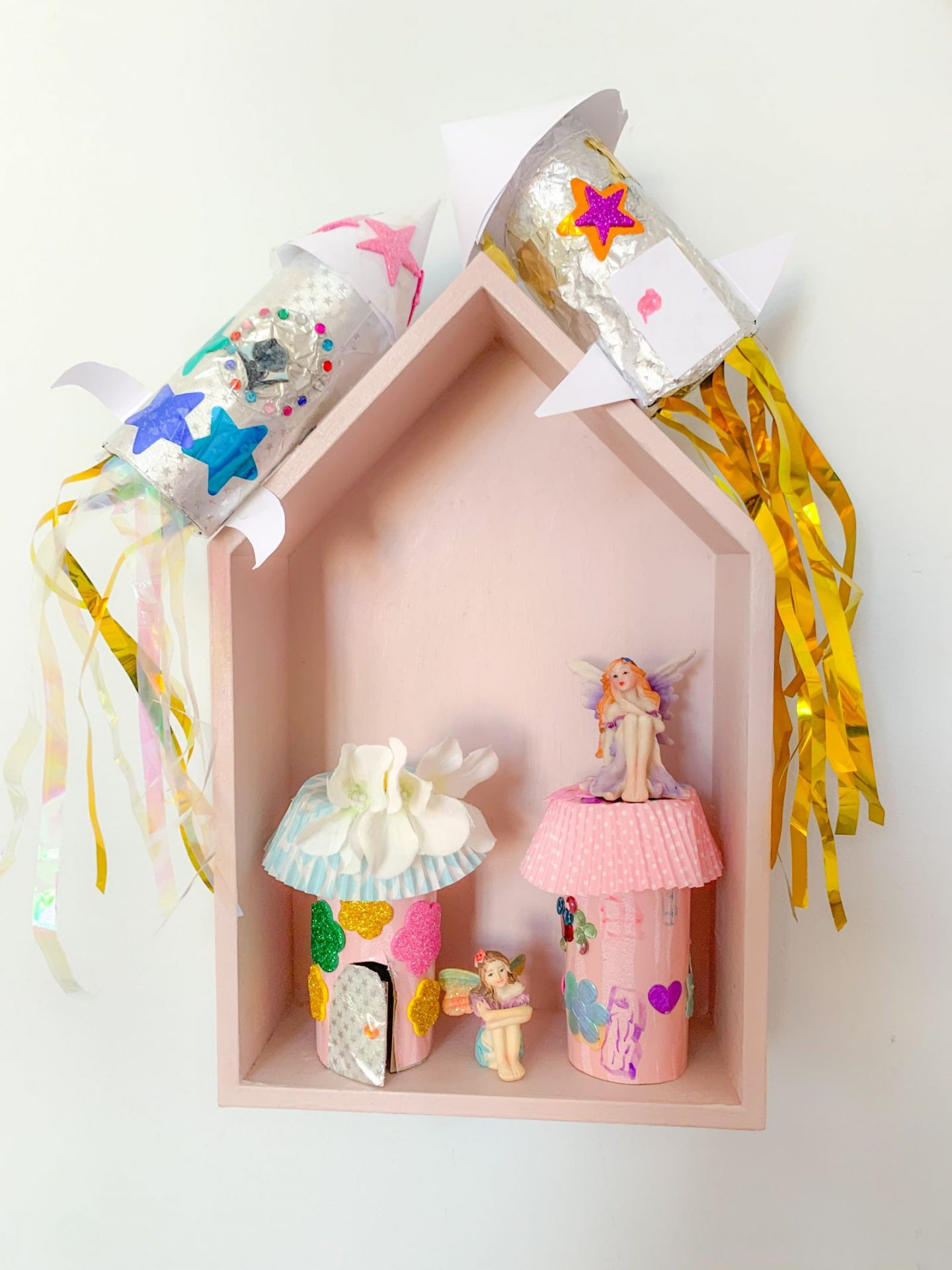 DIY FAIRY HOUSE AND ROCKETS