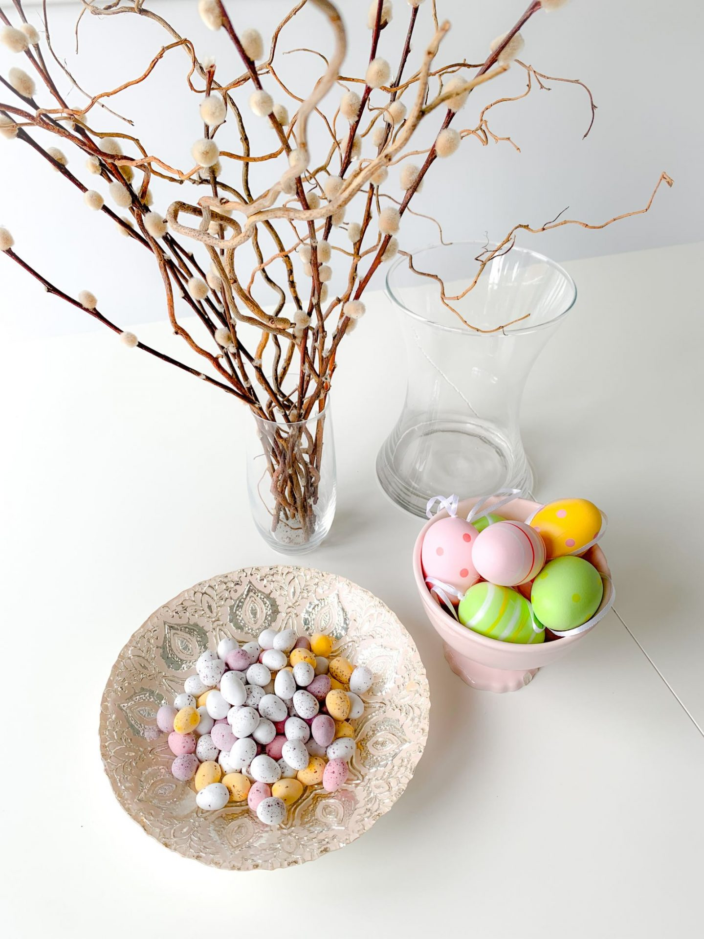 EASTER EGGS VASE DIY
