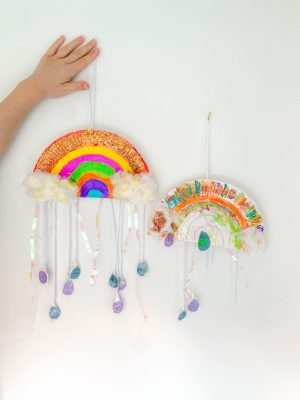 Chase the rainbow kids craft
