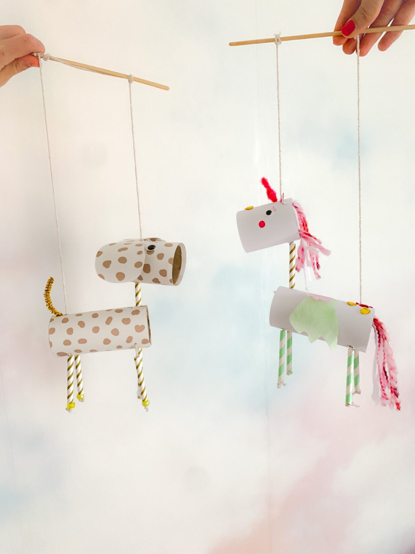 DIY LOO ROLL PUPPETS
