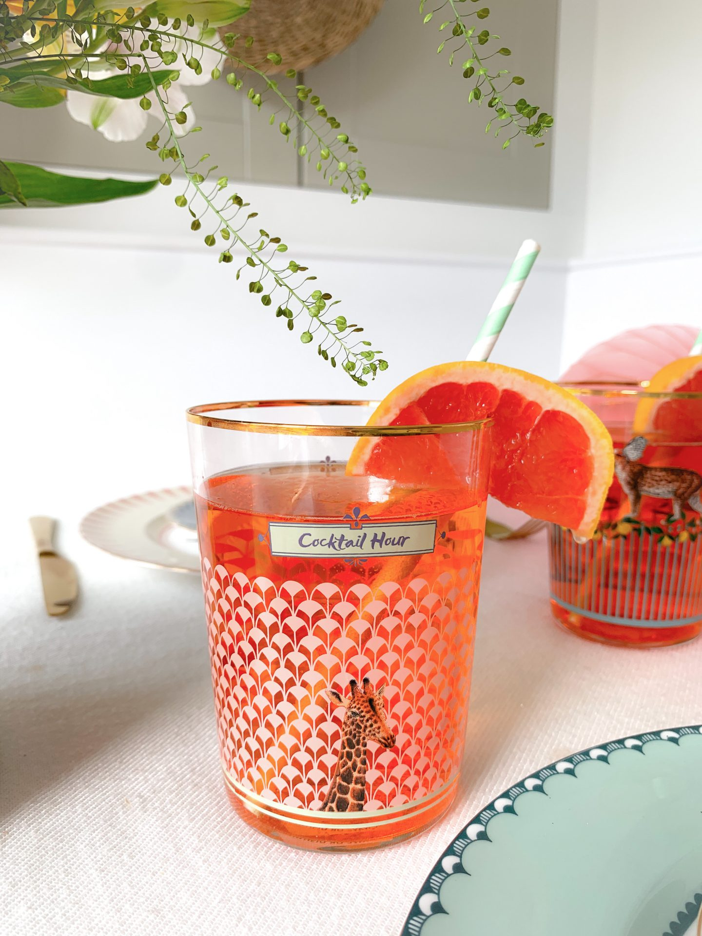 Elderflower Aperol Spritz Cocktail