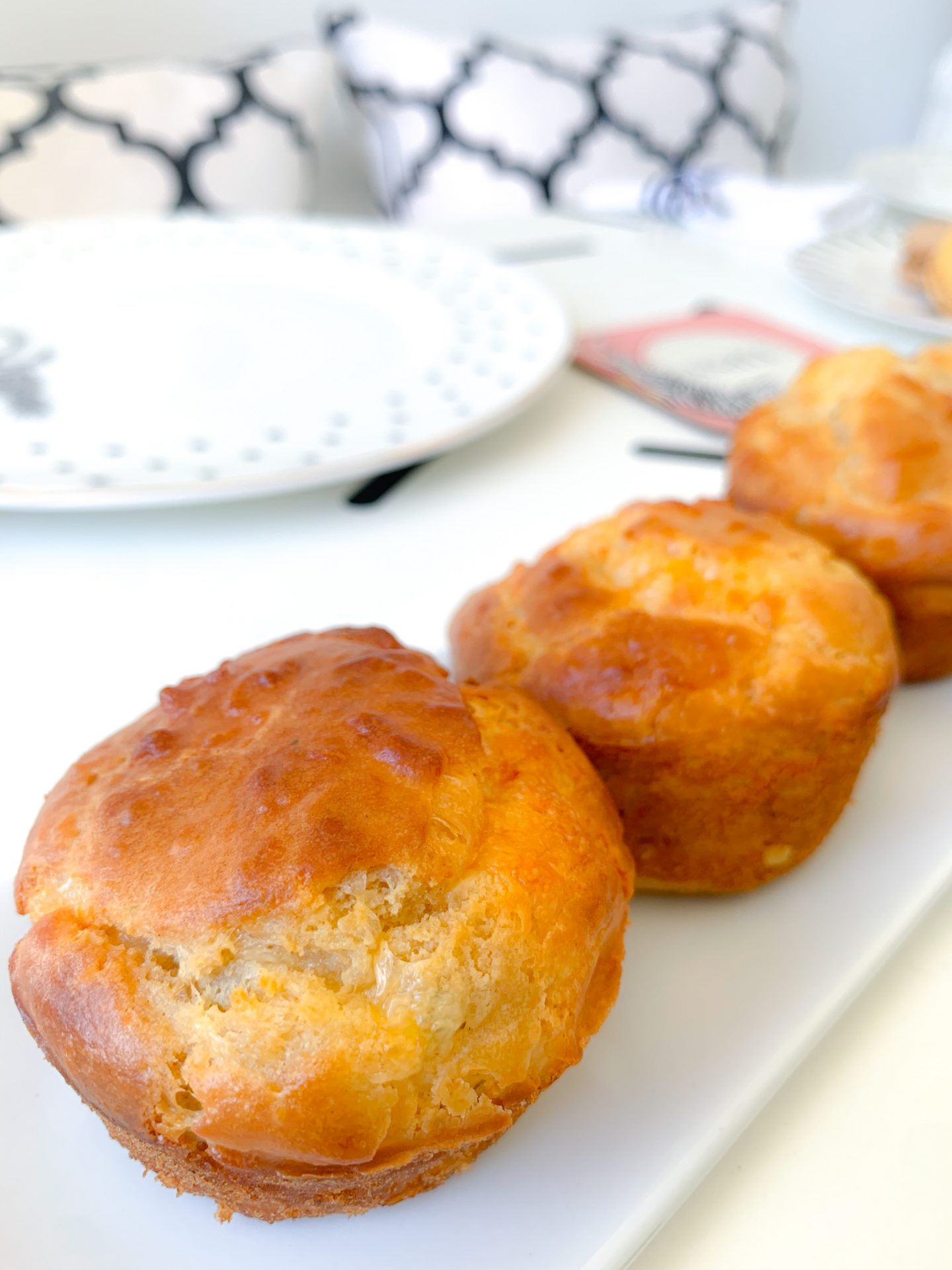EASY CHEESE MUFFINS RECIPE