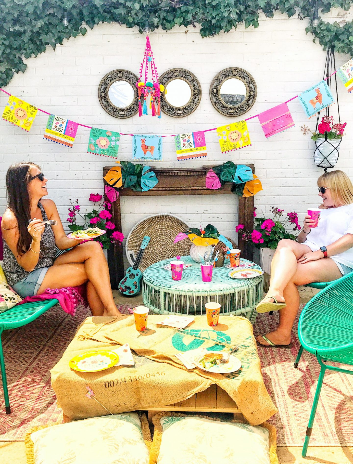 HOW TO HOST A SOCIAL DISTANCING GARDEN PARTY