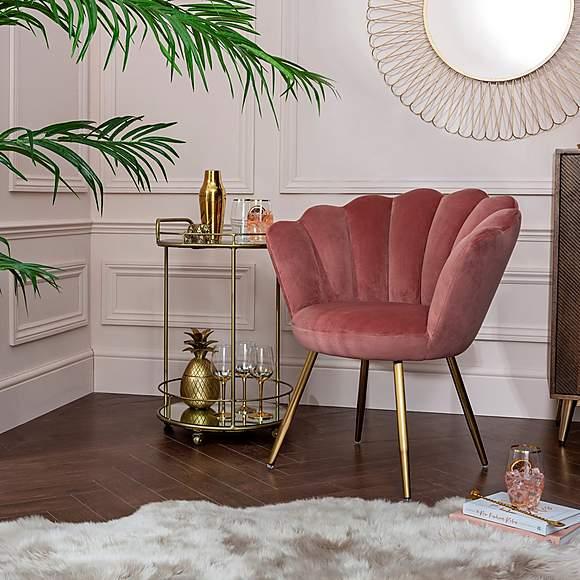 Dunelm - blog-vivian-velvet-cocktail-chair