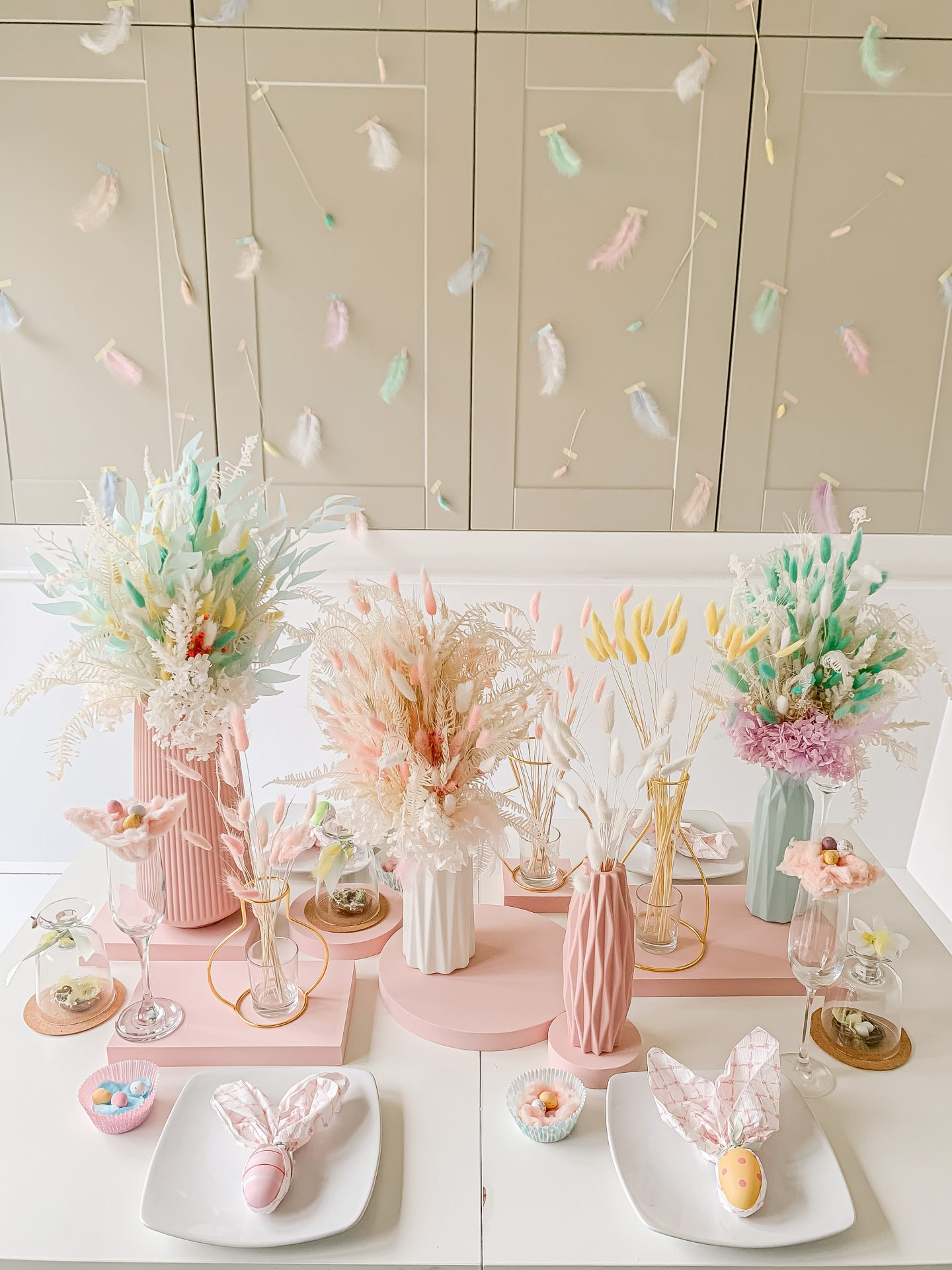 PASTEL PERFECT EASTER TABLE WITH DIYS