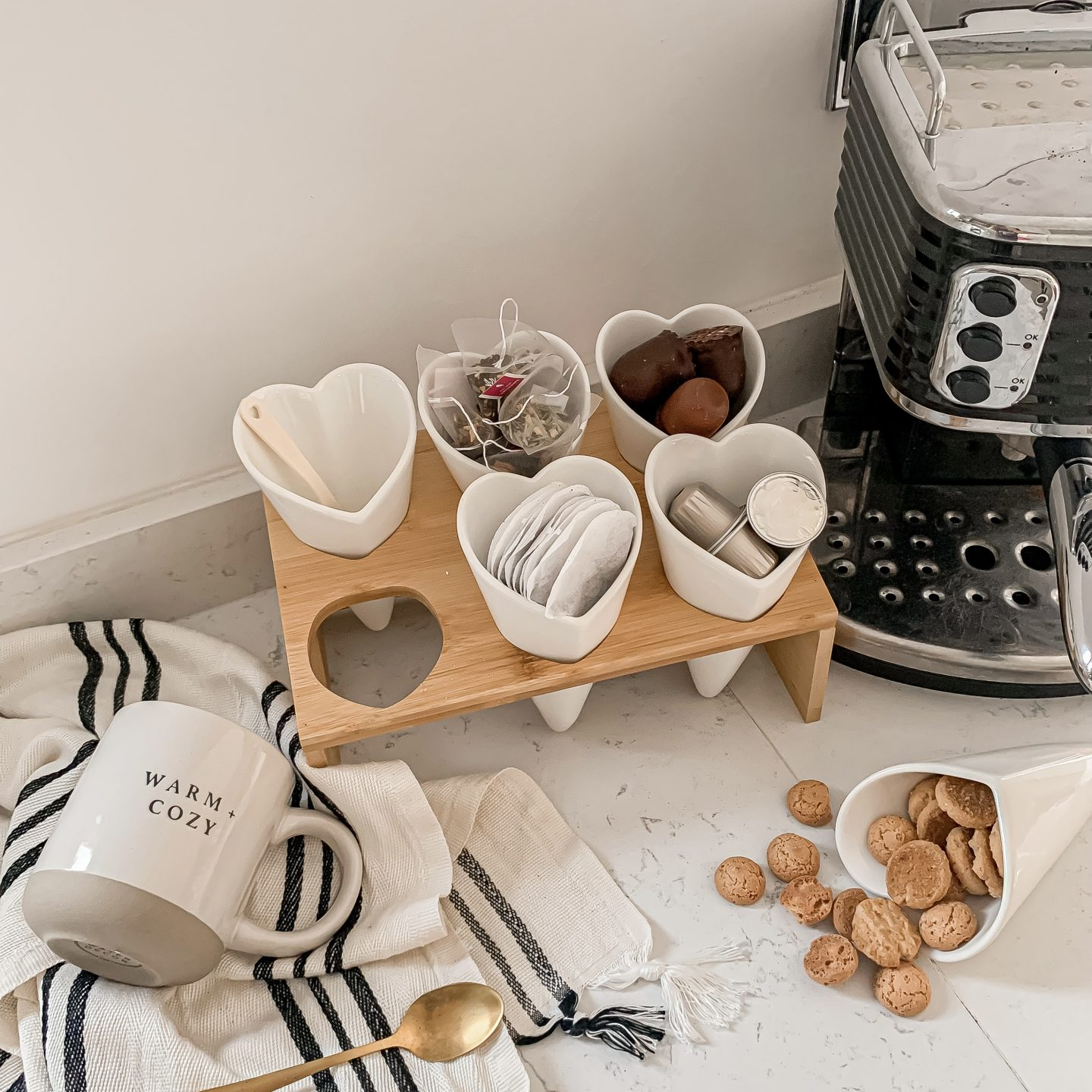 5 WAYS TO USE OUR HEART SNACKING STATION
